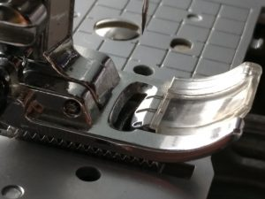 Misaligned Slots in Presser Foot and Needle Plate