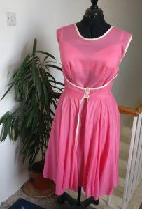 Finished Walkaway Dress on Mimi