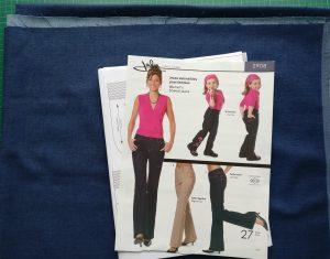 Stretch Denim with Jalie 2908 Jeans Pattern