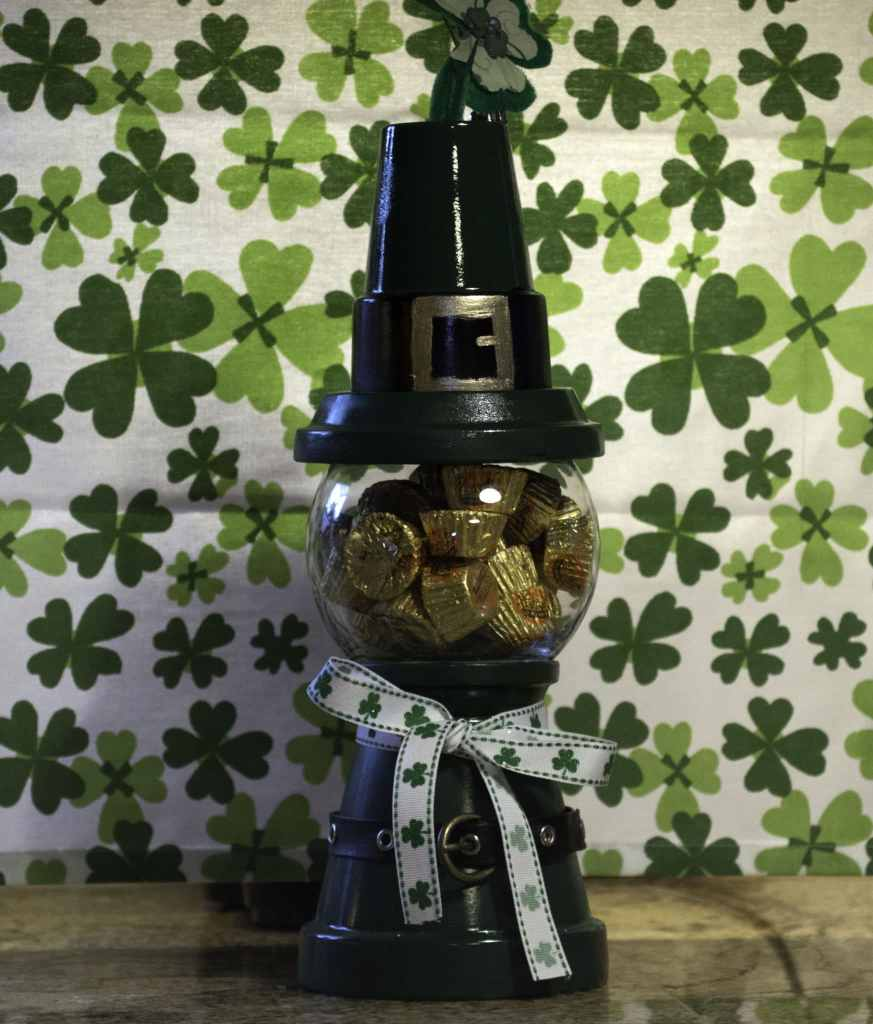 St.-Pats-Gumball-Machine-with-Candy-873x1024 St. Patrick's Day Gumball Machine