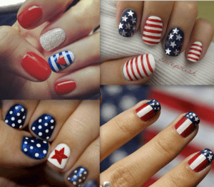 Nail-Art-300x263 July 4th Party Fun