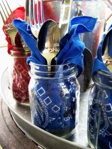 mason-jars-225x300 July 4th Party Fun