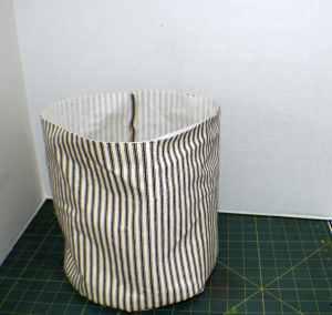 Canvass-Bucket-300x284 DIY Fabric Storage Bucket