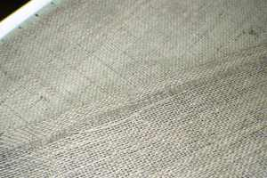 Fuse-the-edges-using-fusible-web-300x200 FALL APPLIQUE BURLAP TABLE RUNNER