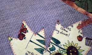 Stitch-around-the-shapes-300x180 FALL APPLIQUE BURLAP TABLE RUNNER