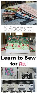 5 Places to Learn to Sew for Free
