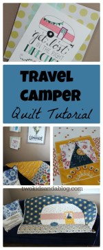 Travel Camper Quilt Tutorial
