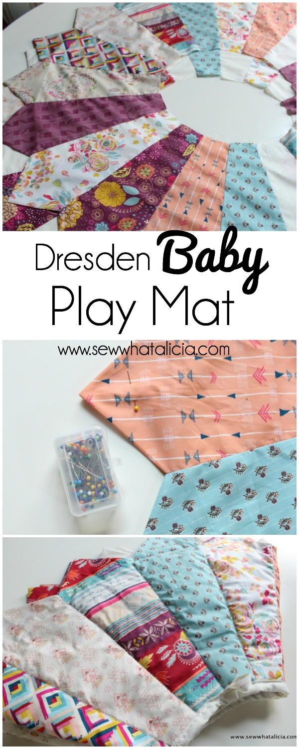 Dresden Baby Play Mat   www.sewwhatalicia.com