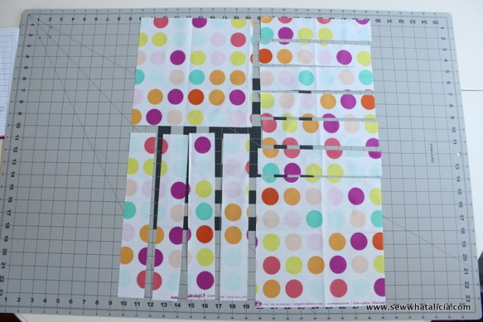 Flavor of Summer Quilt Top | www.sewwhatalicia.com