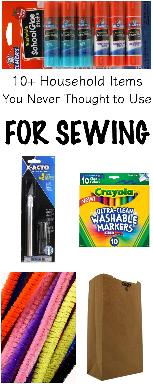 10+ Everyday Household Items You Never Knew You Could Use for Sewing | www.sewwhatalicia.com