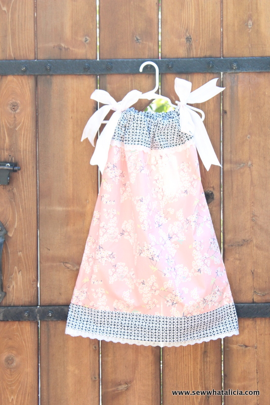 Pillowcase Dress Tutorial and Giveaway | www.sewwhatalicia.com