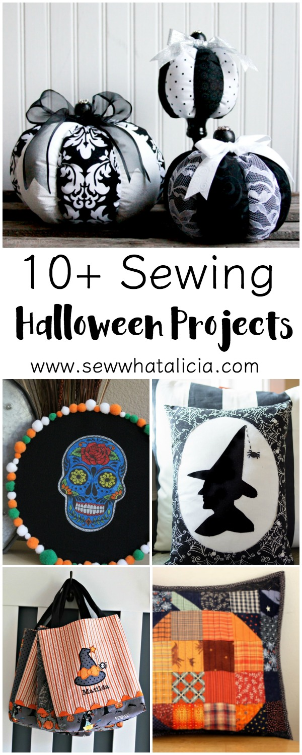 10+ Halloween Patterns to Sew   www.sewwhatalicia.com