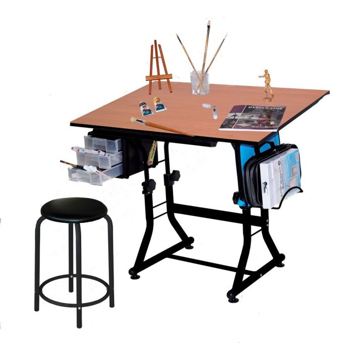 Craft Tables and Furniture for your Craft Room | Are you looking for some great craft tables to organize and spruce up your craft or sewing room. Click through to see some amazing craft tables that will have your room looking amazing! www.sewwhatalicia.com