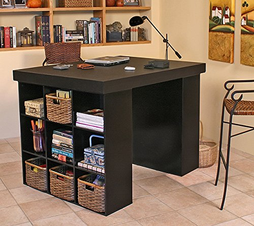 10 amazing craft tables and furniture for your craft room for Craft desk with storage