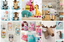 10+ Snuggly Stuffed Animal Sewing Patterns and Books
