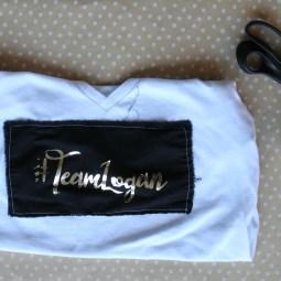 #TeamLogan Foiled Fan Girl Shirt – with Free Cut File