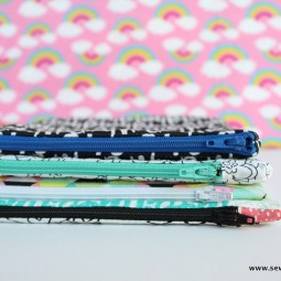 How to Sew an Easy Zipper Pouch