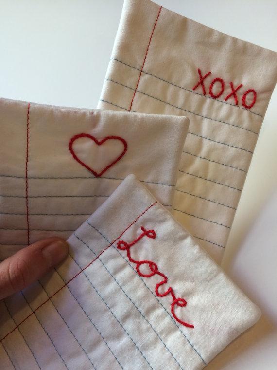 10+ Beautiful Sewn Valentine's Day Ideas