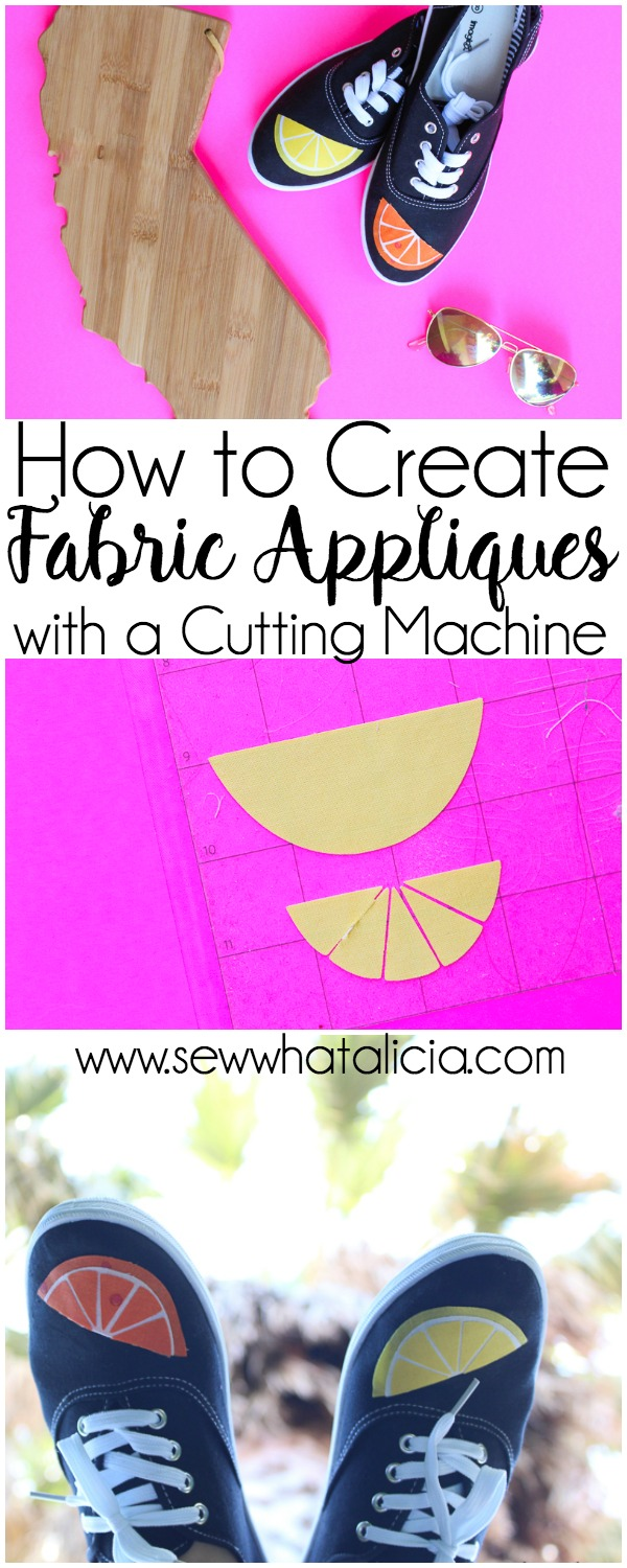 How to Create Fabric Appliqués with a Cutting Machine: If you have always wanted to create intricate appliqués with your cutting machine but didn't know the best technique then this is the post for you. Check out this awesome method for creating appliqués. Click through for the full tutorial. | www.sewwhatalicia.com