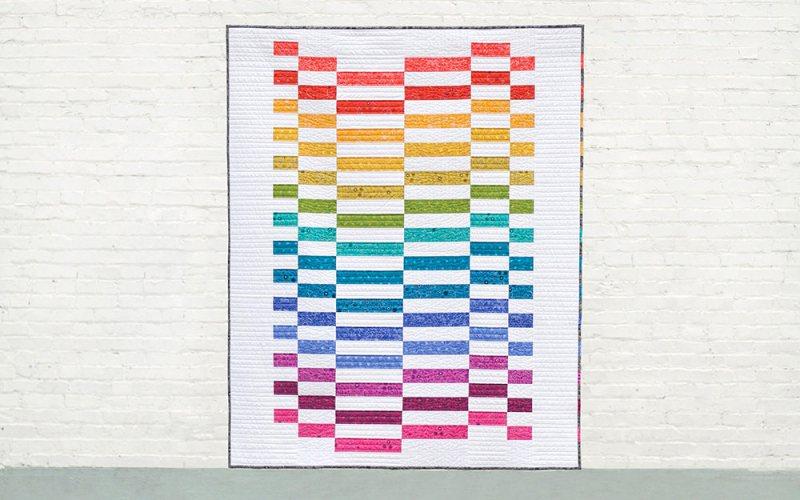 10+ Fabulous Rainbow Quilt Patterns