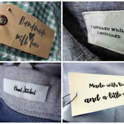 8 Crafty Handmade Labels Cut Files