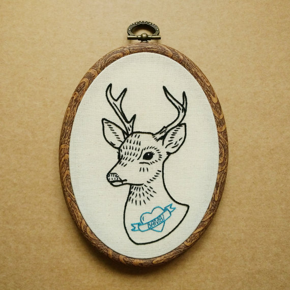 20+ Animal Embroidery Patterns to Stitch: If you love to sew and embroider and you love animals then these patterns are perfect for you. Click through for a full list of animal embroidery patterns.   www.sewwhatalicia.com