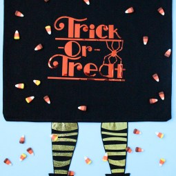 Cricut Trick or Treat Candy Bag