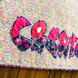 Graffiti Quilting Pattern and Tutorial