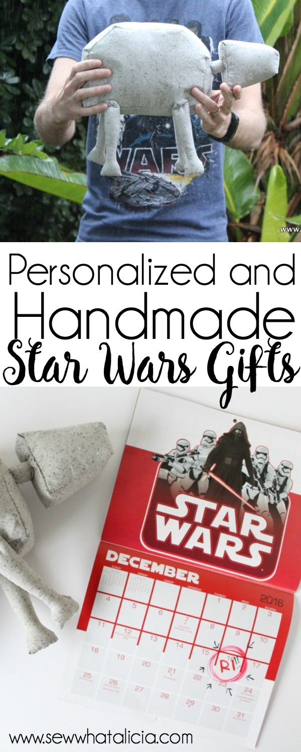 Personalized Star Wars gift ideas: Support a small business this year by buying handmade gifts. I have put together some of my absolute favorite Star Wars gifts that you can get for the fan in your life! Click through for a full list. | www.sewwhatalicia.com