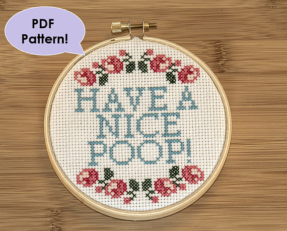 Cross Stitch Patterns that are Inappropriate but Fabulous: These patterns are not for the faint of heart. If you are easily offended please don't open these. Click through for a full list of inappropriate cross stitch patterns. | www.sewwhatalicia.com