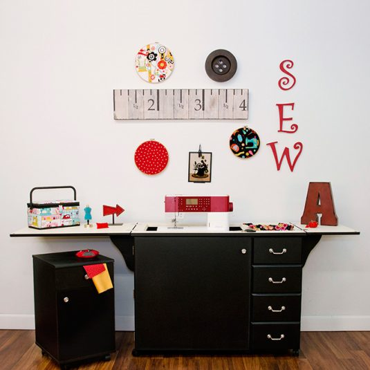 Best Sewing Machine Cabinet: Norma Jean| www.sewwhatalicia.com