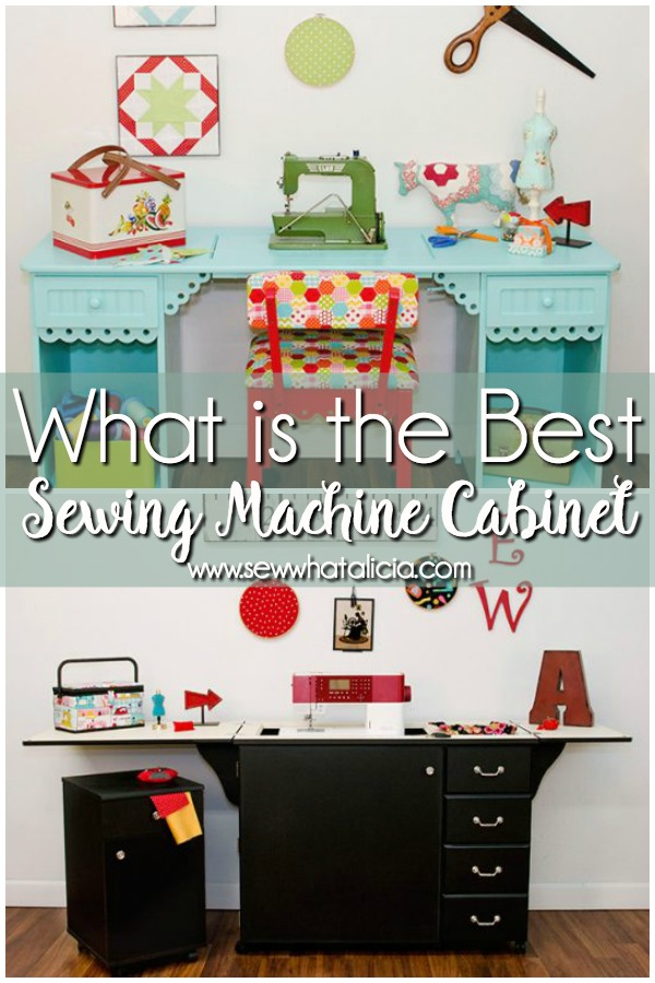 Best Sewing Machine Cabinet: If You Are Looking For A Sewing Machine  Cabinet Then You