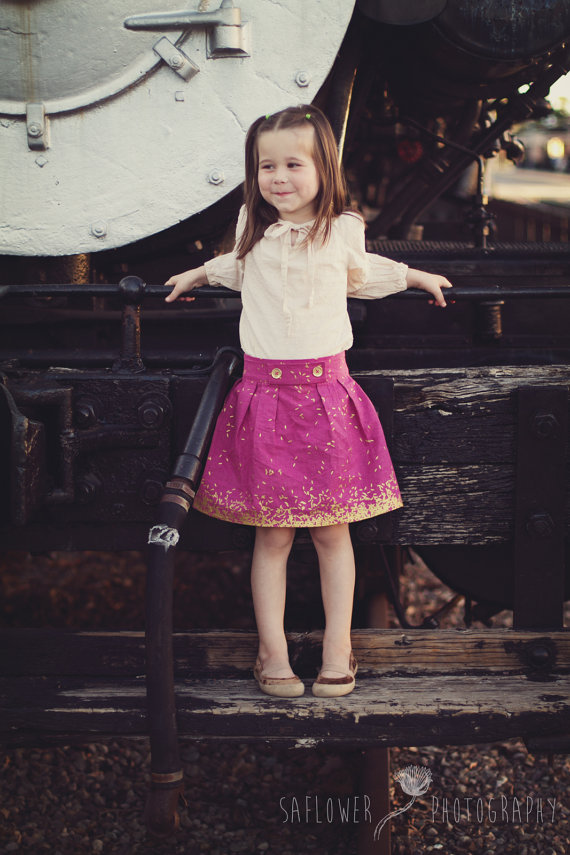 Skirt Sewing Patterns for Women and Girls: Lottie Skirt | www.sewwhatalicia.com