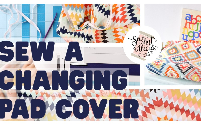 Contoured Changing Pad Cover Pattern