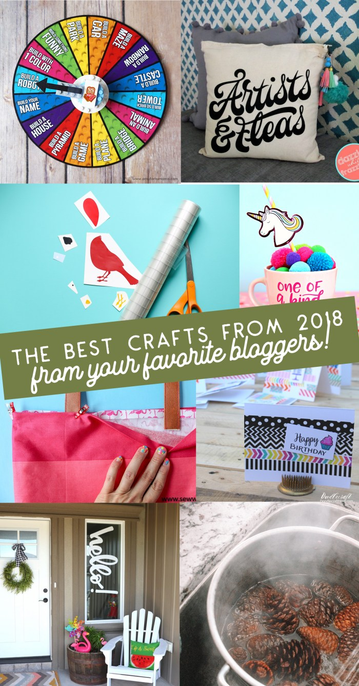Best Crafts of 2018 - What were the most popular crafts this year? Come check them all out! | www.sewwhatalicia.com