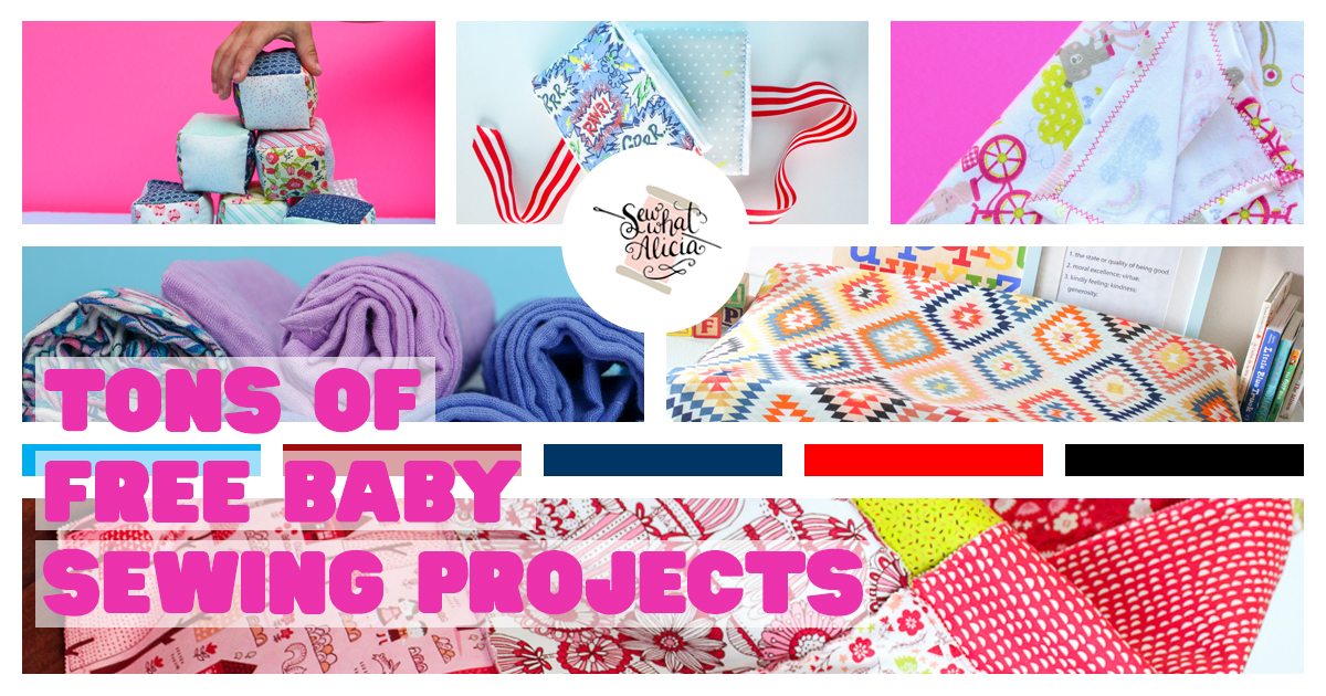 Tons Of Free Sewing Patterns For Baby Sew What Alicia