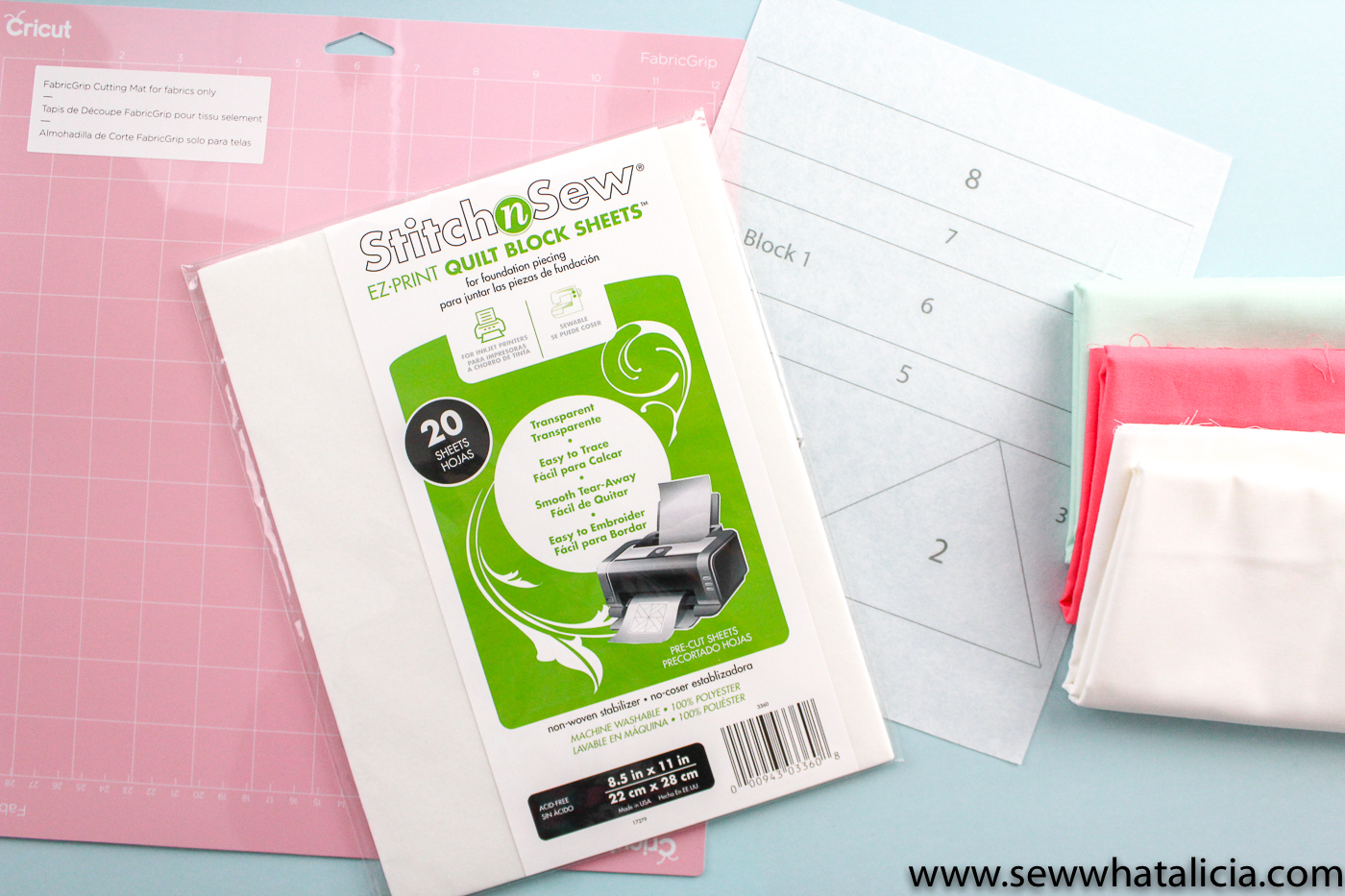 How to Use a Cricut Maker with Fabric - Sew What, Alicia?