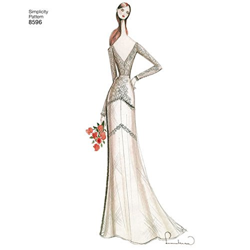 pictured illustrated lady in wedding dress