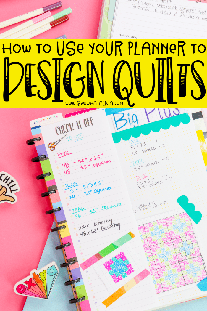How to Design a Quilt: If you're interested in creating your own quilt design patterns this is the perfect place to start. Click through for all the details | www.sewwhatalicia.com