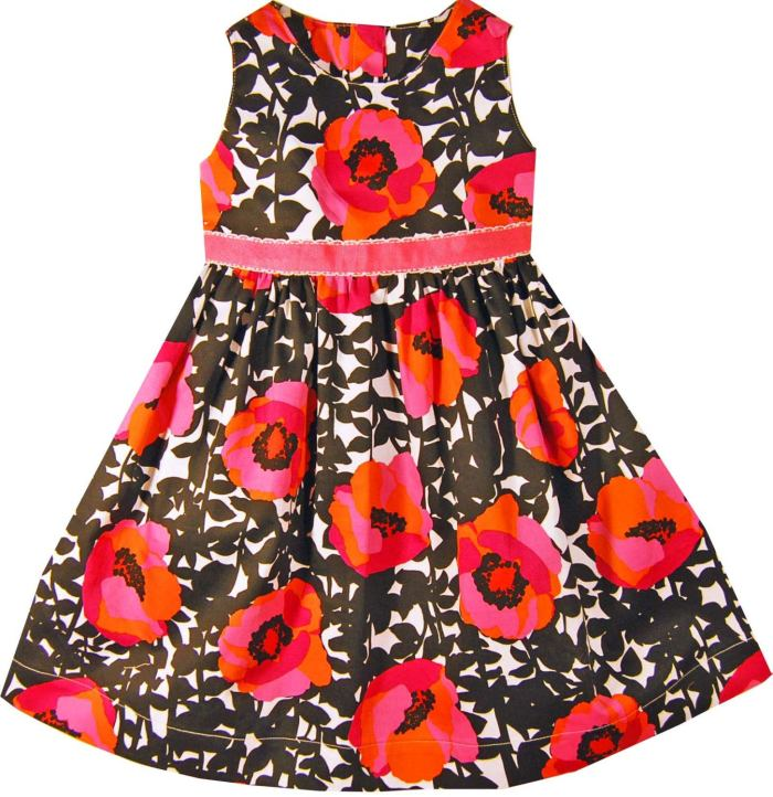 pictured floral girls dress