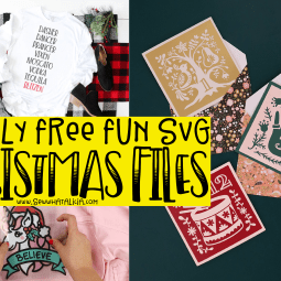 Mostly Free Christmas SVG Files