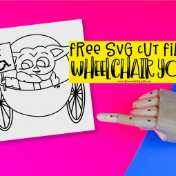 Free Wheelchair Access Car Stickers SVG Files