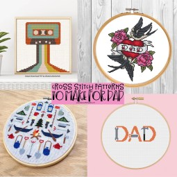 Cross Stitch Projects Dad will Love!