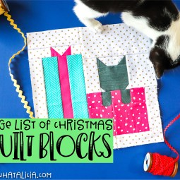 Christmas Quilt Blocks and Quilts