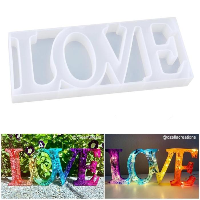 Resin Letter Sign Mold