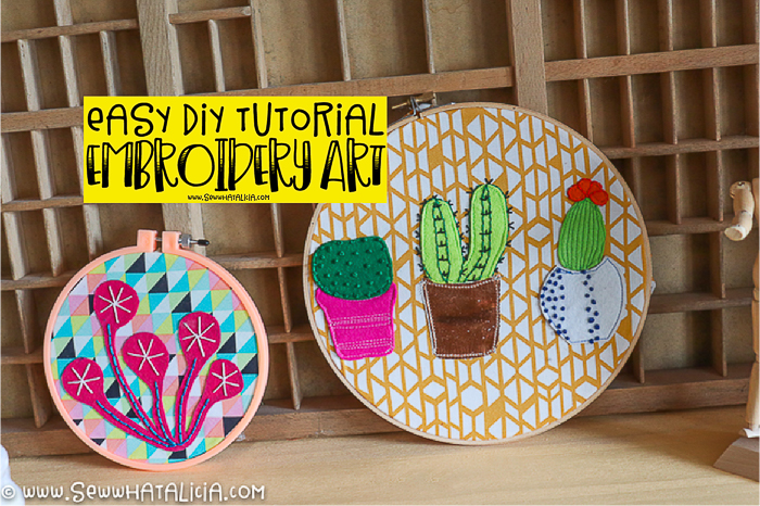 Embroidery Hoop Wall Art – Easy DIY Project
