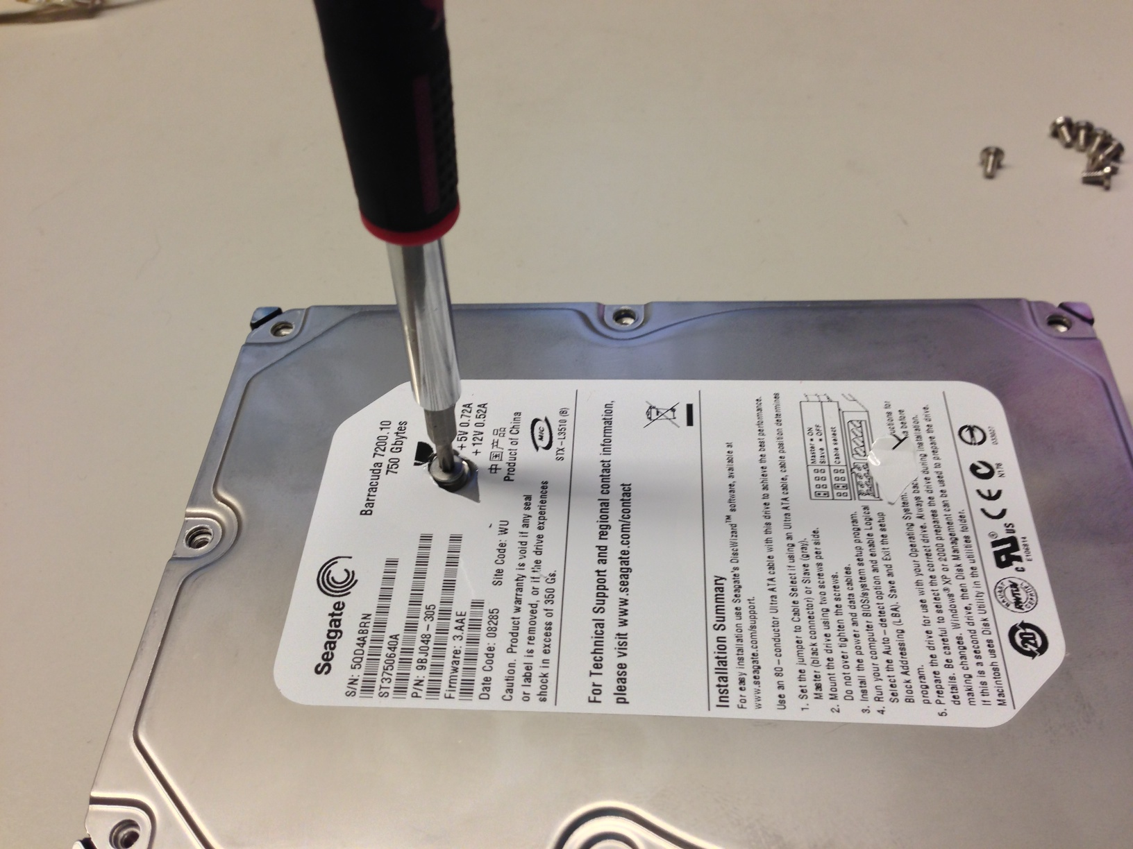 Take Apart a Hard Drive for Craft Parts - Sew What, Sherlock?