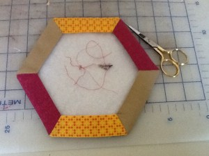 hexagon thread catcher