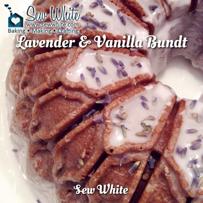 Sew White Lavender and Vanilla Bundt Recipe 4