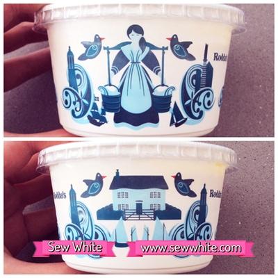 Sew White Roddas cream scones tea 4